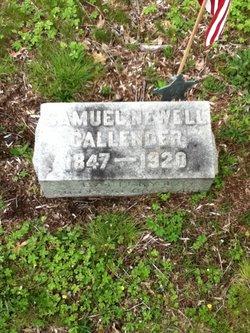 Samuel Newell Callender