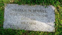 Pvt William M. Rimmel