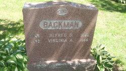 Virginia A <i>Judd</i> Backman