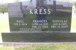Frances E <i>Myers</i> Kress