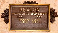 Hannah Ellen <i>Hill</i> Beaton