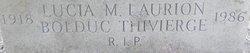 Lucia M <i>Laurion</i> Bolduc Thivierge