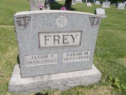 Sarah M <i>Jacobs</i> Frey