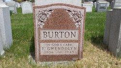 Florence Gwendolyn <i>Aubrey</i> Burton