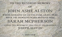 Col John Ashe Alston
