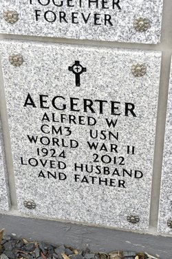 Alfred W Aegerter