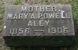 Mary Agnes <i>Powell</i> Aley