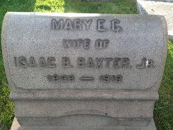 Mary Elizabeth <i>Colcord</i> Baxter