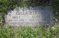 Grace A <i>McGuire</i> Gallagher
