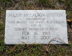 Maxie Katherine <i>McLaurin</i> Horton