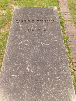 Carrie S. Coleman