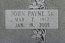 John Payne Cox, Sr