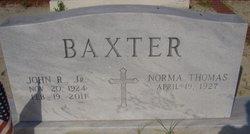 John Robert Baxter, Jr