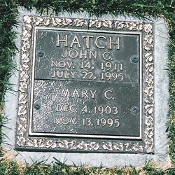 Mary Cecilia <i>Hilt</i> Hatch