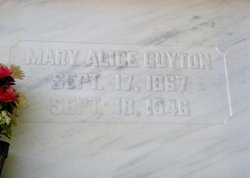 Mary Alice <i>Leckrone</i> Guyton