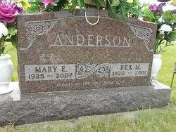 Mary Elizabeth <i>Clymer</i> Anderson