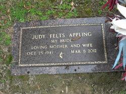 Judy Grace <i>Felts</i> Appling