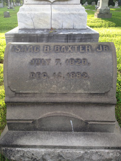 Isaac B Baxter, Jr