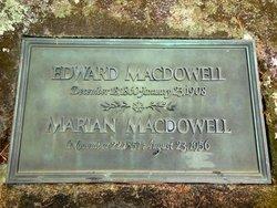 Marian Groswold <i>Nevins</i> MacDowell