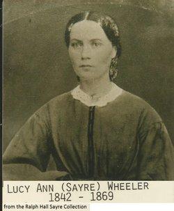Lucy Ann <i>Sayre</i> Wheeler