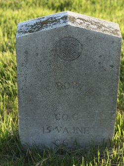 Corp William Edward Bowles