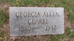 Georgia <i>Allen</i> Clarke