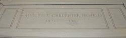Augustus Carpenter Pete Newell