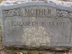 Elizabeth <i>Rice</i> Burkart