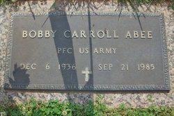 Bobby Carroll Abee