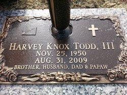 Harvey Knox Todd, III