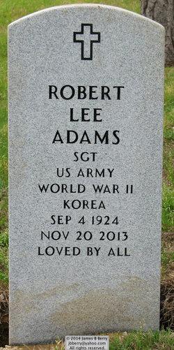 Sgt Robert Lee Adams