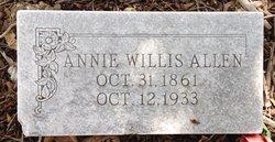 Annie Willis Allen