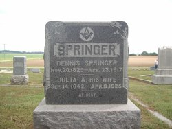 Julia A <i>White</i> Springer