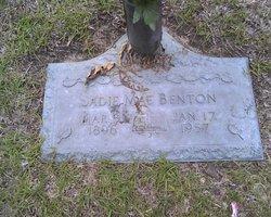 Sadie Mae <i>Brafford</i> Benton