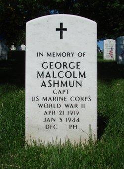 Capt George Malcolm Ashmun