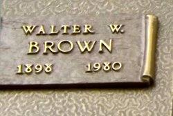 Walter Wilbur Brown