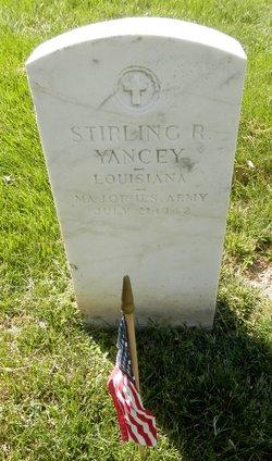 Stirling R Yancey
