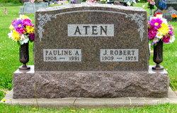 Pauline A <i>Bair</i> Aten