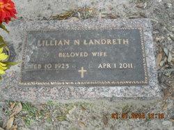 Lillian Nettie <i>Bice</i> Landreth