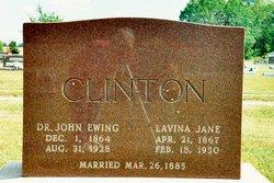 Sarah Lavina Jane <i>McKinney</i> Clinton