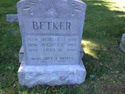 August C Betker, Jr