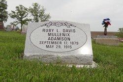Ruby L. Mullenix <i>Davis</i> Adamson