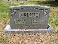 Martha A <i>Guy</i> Arline