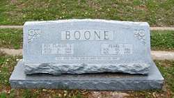 Agnes Pearl Pearl <i>Kirkpatrick</i> Boone