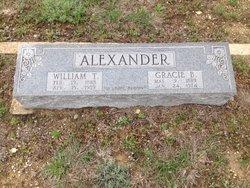 Grace Benson Gracie <i>Alley</i> Alexander