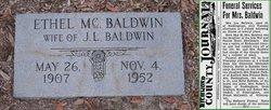 Ethel Elizabeth <i>McCaskill</i> Baldwin