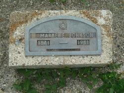 Mary Elizabeth <i>Pottorff</i> Johnston