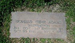 Donald G Adams