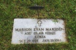 Marion Evan Marsden