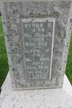 Byron F Curtiss